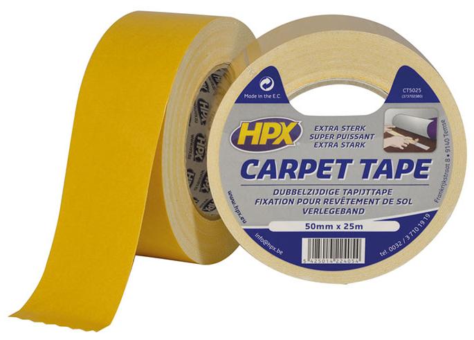 HPX Скотч д/килимів 50мм*25м білий CT5025