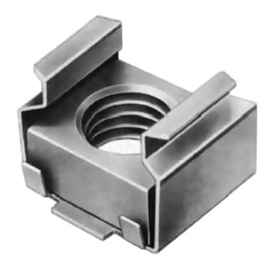 Гайка М5 закл 04 цб 1,7-2,5 12х10