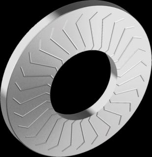 Шайба пружинная тарельчатая с насечкой, форма М (Art.88124)