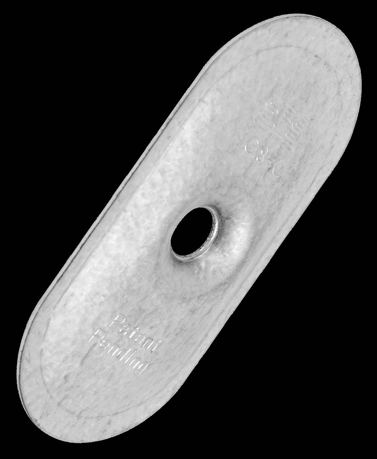 Тарілка дожимна 80х40х07 метал