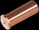 ISO13918 Втулка 6х25/М4 привар 4.8 обмідн