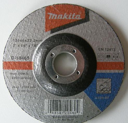 Диск шлифовальный по металлу (Makita)