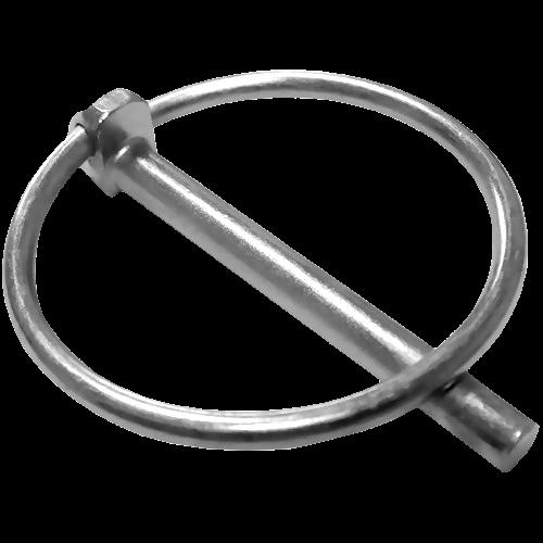 Шплинт быстросъемный с кольцом