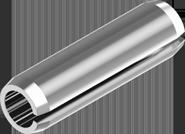 Штифт пружинный цилиндрический трубчатый разрезной