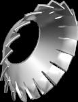 Шайба стопорная вогнутая с наружными зубьями