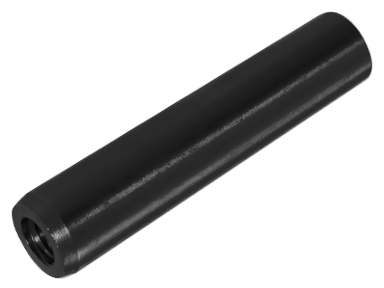 Штифт конический с метрической внутренней резьбой на одной стороне