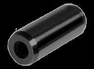 Штифт цилиндрический с метрической внутренней резьбой