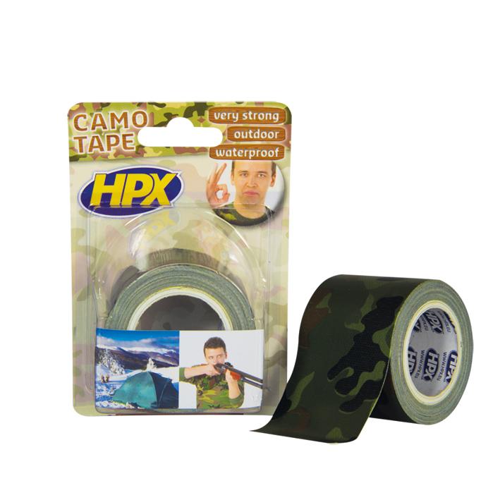 HPX Скотч армов.ткан.осн.50ммх5м камуфляж.CA5005