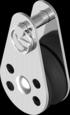 Блок одношкивный с нейлоновым колесом