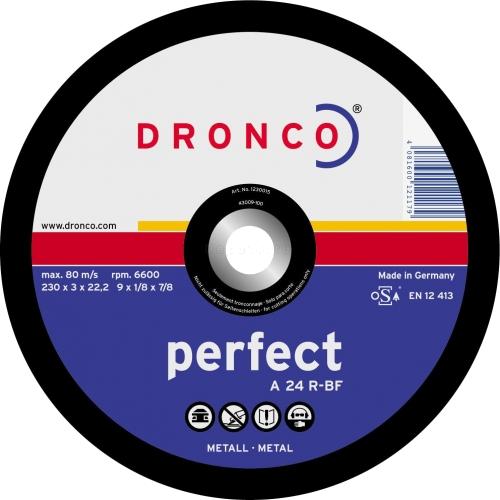 Диск по мет.350x3.5х25.4 Dronco
