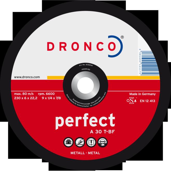 Диск шлифовальный по металлу (Dronco)