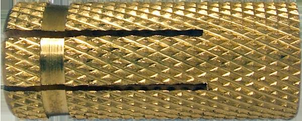 ETO Дюбель 15х38/М12 латунь