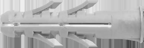 Дюбель 12x60 буртик нейлон UPA/L