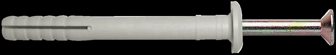 Дюбель UCX-b с ударным шурупом, с буртиком