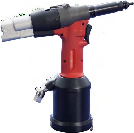 Пистолет гидропневматический для клепальных гаек F10