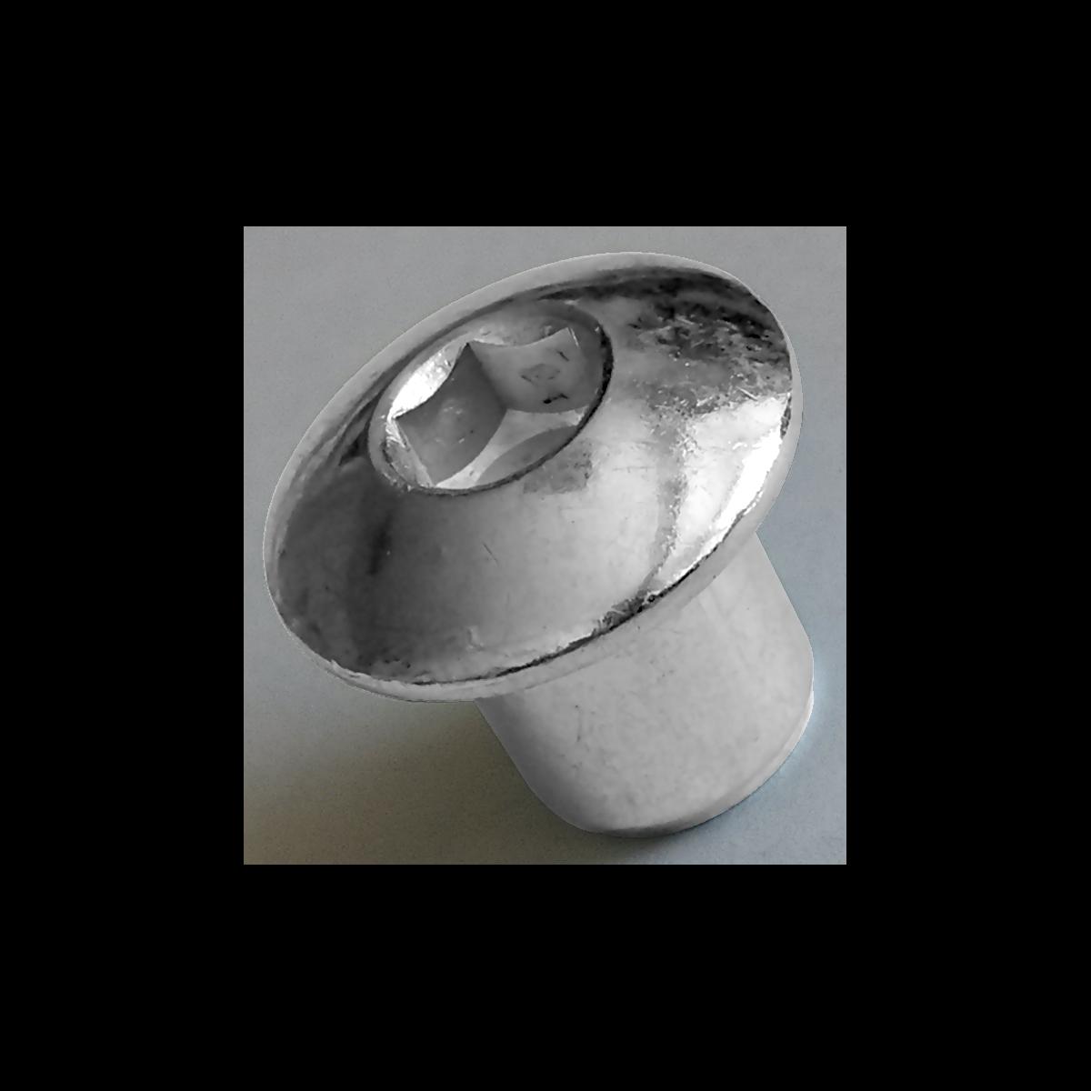 Гайка Эриксона с полукруглой головкой (JCN)