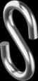 Крюк S-образный нержавеющий