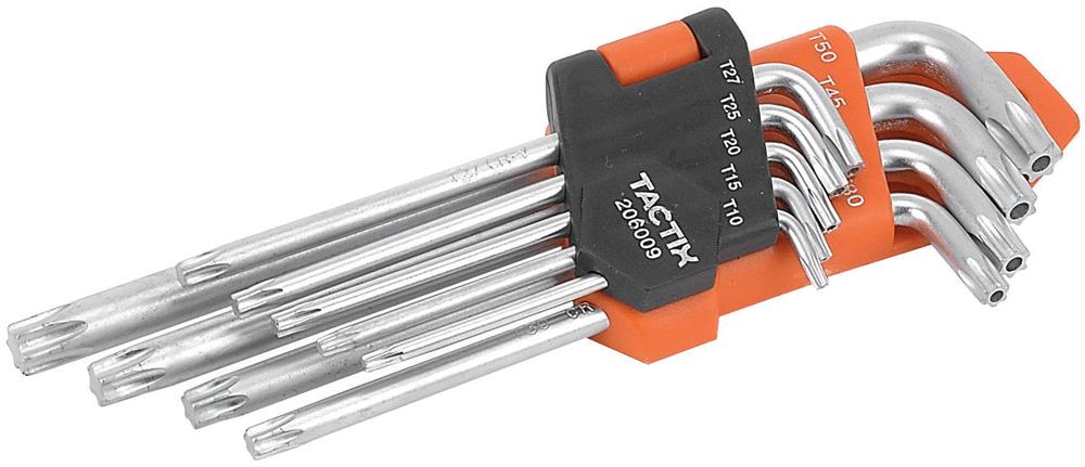 Набор L-образных ключей с отверстием (TX)