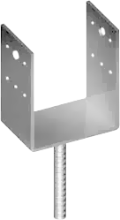 A_Након.колони U 73x40,прут d=16mm