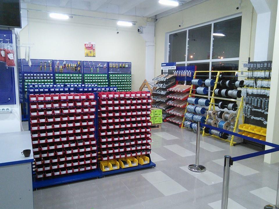 Открытие нового магазина крепежных изделий в г. Харьков