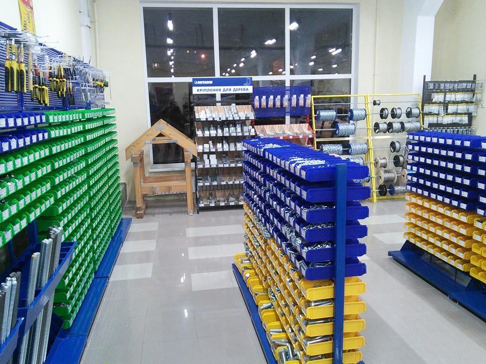 Магазин крепежных изделий METALVIS в Харькове