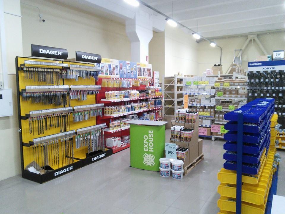 Буры, сверла и строительная химия в магазине METALVIS