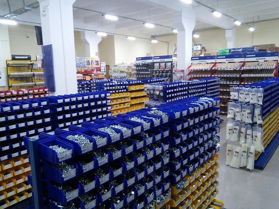 Новый магазин крепежных изделий METALVIS