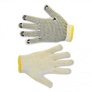 Перчатки трикотажные с односторонним ПВХ-рисунком