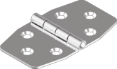 Петля симетрична 70х40x1.5 А2
