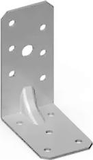 Пластина угловая разнополочная усиленная