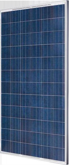 Поликристаллический фотоэлектрический модуль (72 ячейки)