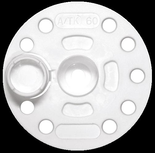 Притискний диск d-60 д/кріпл.ізоляції