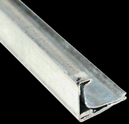 Профіль фланцевий S20 2,5м шинорейка 0.6мм