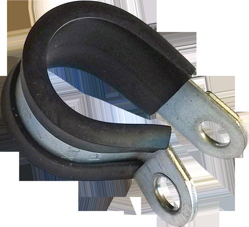 R-Хомут d25 обжимний W1 сталь цб DIN3016-1