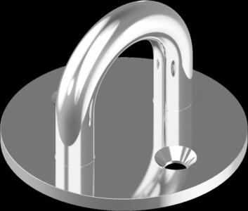Скоба стационарная, круглая основа