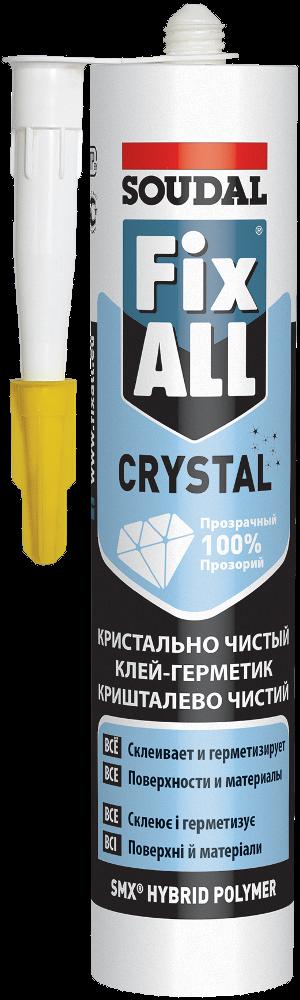 Клей-герметик FIX ALL CRYSTAL