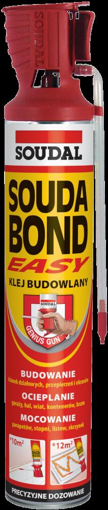 Универсальная пена-клей SOUDABOND EASY с аппликатором GENIUS GUN