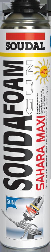 Пена для крайне высоких температур SOUDAFOAM MAXI SAHARA