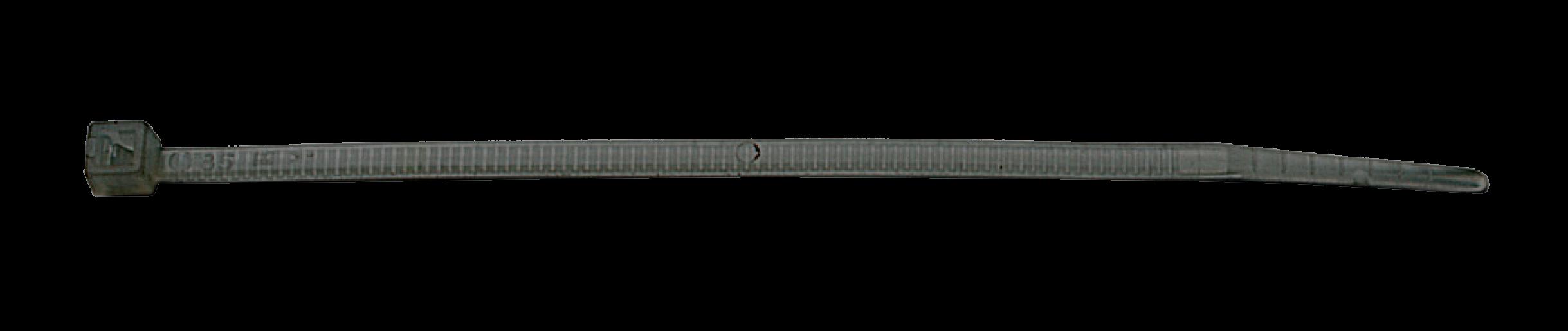 Стяжка чорна 750х7.5 ELEMATIC