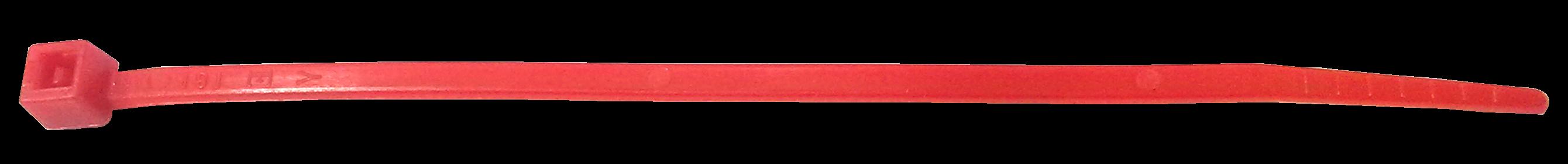Стяжка кабельная красная