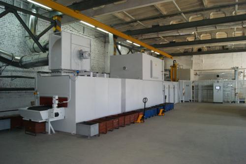 Автоматизированная линия Ernst Reinhardt по нанесению покрытий DELTA–MKS