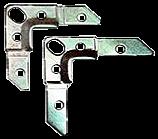 Kуток монтажний фланц. 75x19x2.5