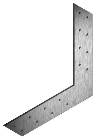 Уголок L-образный